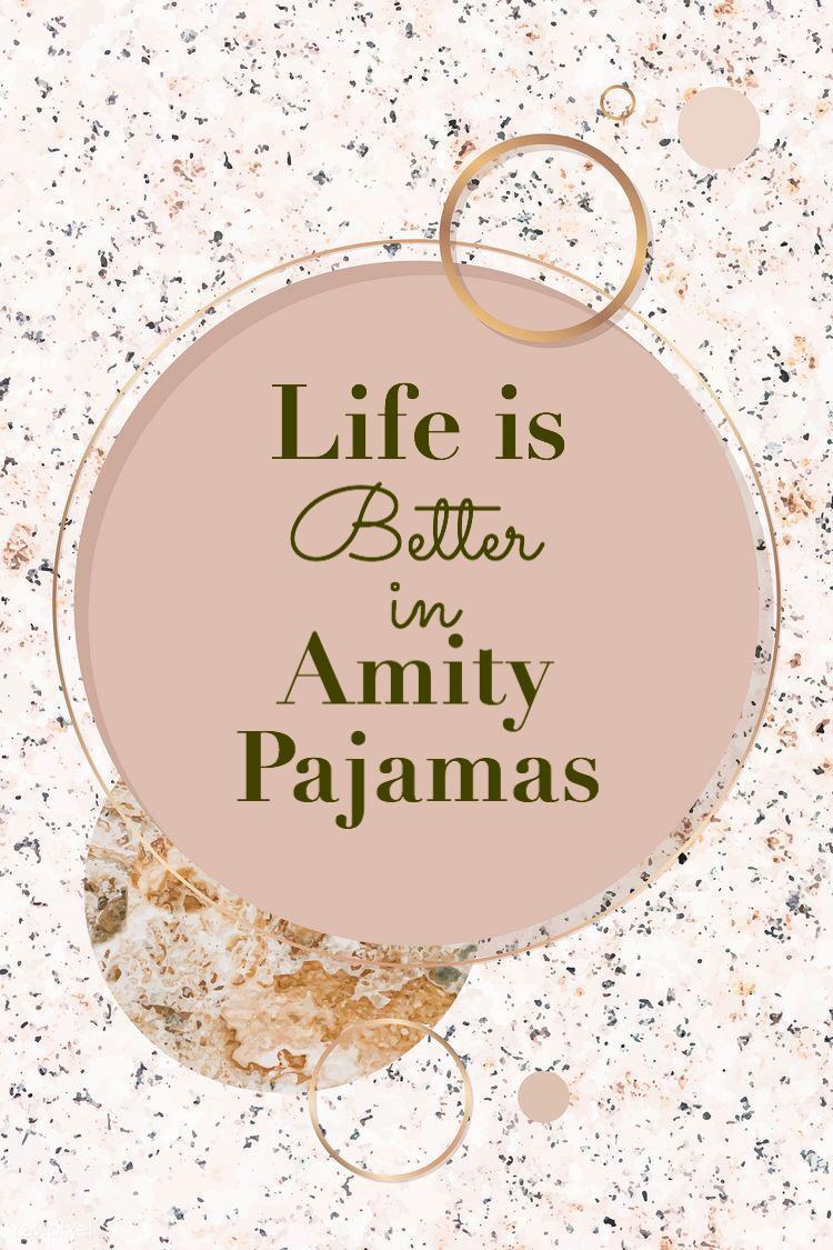 AmityPajamas